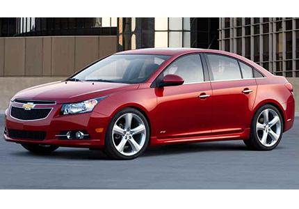 Chevrolet Cruze or similar